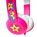 onanoff(オナノフ) BuddyPhones Standard Pink(ピンク) かわいい子供用ヘッドホン(ヘッドフォン)