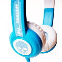 onanoff(オナノフ) BuddyPhones Standard Blue(ブルー) かわいい子供用ヘッドホン(ヘッドフォン)
