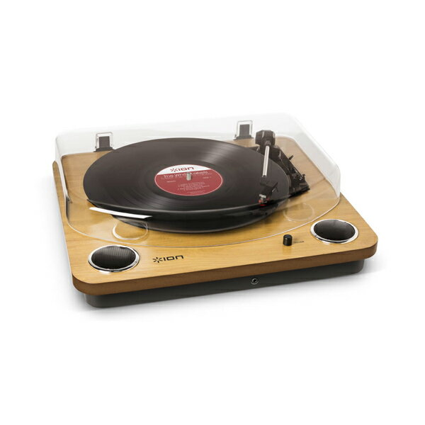 ION MAX LP -Conversion Turntable with Stereo Speakers- USB端子/ステレオスピーカー搭載オールインワン・ターンテーブル【送料無料】