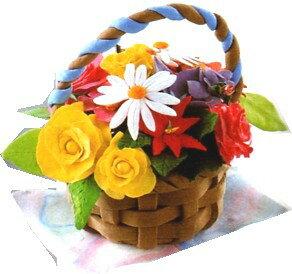 作品例】かごも花も、すべて ...