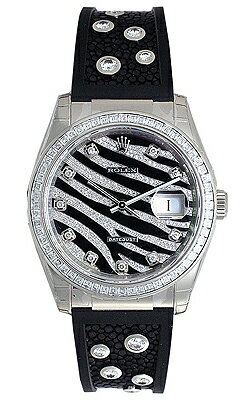 Rolex Datejust Zebra 116189 (diamond) 10 P diamond