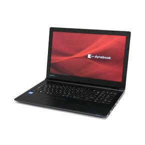 当店オススメ 新品パソコン A4 ノートパソコン エントリークラス 只今の機種は 東芝 dynabook Satellite B65/DN 15.6インチ テンキー 無線LAN WPS Offce付き Windows10 Pro 【Celeron 3867U/4GB/500GB/MULTI】