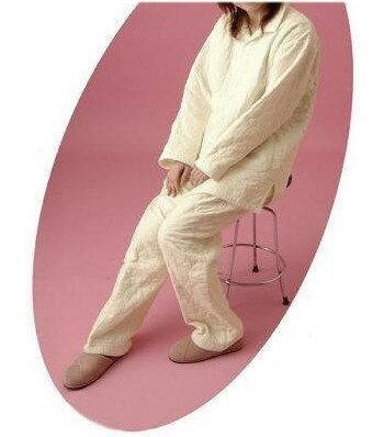パシーマ素材パジャマ(長袖・えり付)/の商品画像