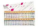 リキテックス・アクリルソフト絵具伝統色セット(6号チューブ) 36色