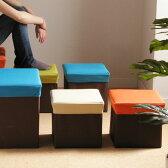 【ポイント2倍】BOX STOOL TRUMP S(ボックススツール 収納box 収納ボックス 折りたたみ おもちゃ入れ オットマン チェア 収納箱 収納付きチェア)