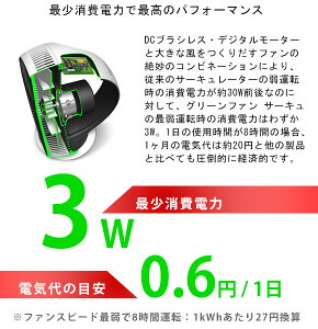 【送料無料】バルミューダGreenFanCirq(balmuda/greenfan/扇風機/サーキュレーター/省エネ/エコ/節電)