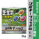 【レインボー薬品】【除草剤】シバキーププラスα粒剤 2kg 便利な計量カップと手袋付き