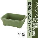 【クーポン配布中】リッチェル 緑のやさいプランター40型