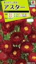 【メール便対応】【タキイ種苗】【花種】アスター 紅花火(FAS542)