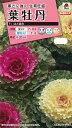 【メール便対応】【タキイ種苗】【花種】葉牡丹 F1 はと混合(FHB519)