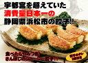 餃子消費量日本一の浜松餃子!もっちり皮とプリプリのお肉がたまらないさんぼし餃子!30個タレ付き【遠州】