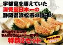 餃子消費量日本一の浜松餃子!もっちり皮とプリプリのお肉がたまらないさんぼし餃子!30個タレ付き×2セット送料無料