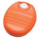 湯たんぽ YDL−26L オレンジ/ホワイト【0228da_ki】 【RCP】【10P02Mar14】【0228ENET】