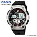 【送料無料】CASIO〔カシオ〕スポーツウォッチ デジタル腕時計 SPORTS GEAR AQ-190W-1AJF【D】【楽ギフ_包装】