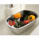 ステンレス製の小判型洗い桶 足付 30248送料無料 食器 ...