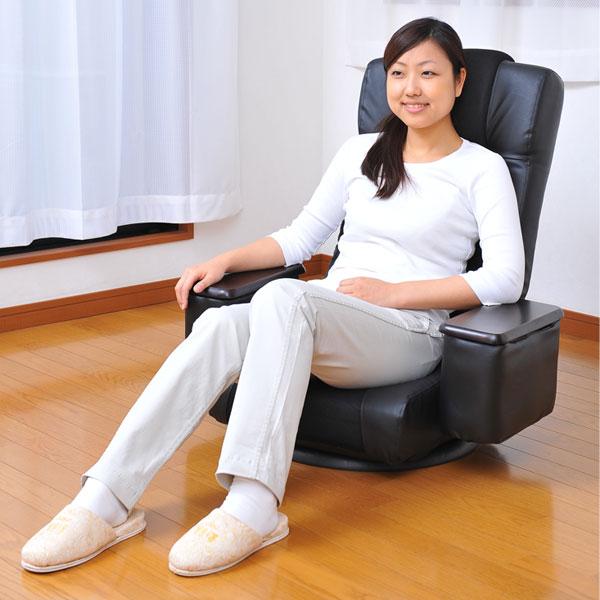 【送料無料】【代引不可】リクライニング座椅子 ...の紹介画像2