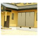 すだれ PVCすだれ 外吊りつよし023 サイズ 大 88×約160(cm) カラー:アイボリー くるっと付きメーカー直送