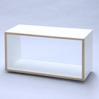 30%的折扣顯示框展示架] 圖示框 3 l iko 軸承箱單雙面型 (無回) 發揮傢俱、 自己的傢俱、 展示盒、 空間框、 機架空間,日本是框木質家居衣櫃