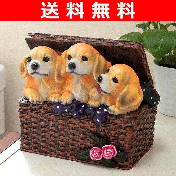 三喜 除菌シートケース ラッキードッグ 収納ケース 収納ボックス インテリア 【送料無料】