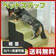 【あす楽】 山善(YAMAZEN) ペットステップ YZP-003S(GR) グリーン ペット用ステップ ペット用階段 ペット用品 犬 【送料無料】