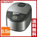 【あす楽】 シャープ(SHARP) 炊飯器 (5.5合) K...