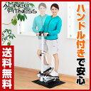 【あす楽】 アルインコ(ALINCO) ハンドル付ステッパー...