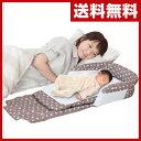 日本育児 添い寝ベッド スグネル NI-6600001001 ベビーベッド ベッドインベッド 添い寝 すぐねる 添い寝ベッド ベビー 赤ちゃん コンパクト ベビー布団 ベビーふとん 【送料無料】