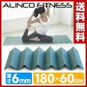 【あす楽】 アルインコ(ALINCO) 折りたたみ式ヨガマット FYG616G エクササイズマット フロアマット 【送料無料】