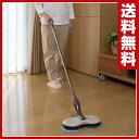 【あす楽】 マリン商事 くるくるツインモップ EL-70266 モップ 水拭き 床掃除 フロー