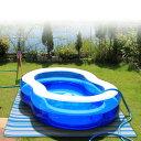 ユーザー(USER) プール下マット U-Q549 ブルーストライプ 家庭用プール プール ビニールプール シート マット キャンプ用品 【送料無料】