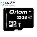 microSDカード マイクロSD microSDHC 32GB Ultra UHS-1 CLASS10 QRMSD-32GB メモリーカー...