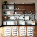 ラック 木製 棚板 (幅85.5×奥行41.5×高さ162)...