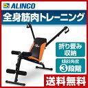 アルインコ(ALINCO) マルチアームジム G3100 マルチジム シットアップベンチ レッグカー...