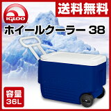 户外野营包冷却器 - 评伊格卢冷却器(IGLOO系列)38#Kuraba轮冷却器冷却器海蓝45 004[【あす楽】 イグルー(IGLOO) ホイールクーラー 38 (36L) #45004 マジェスティックブルー クーラーボックス クーラーバッグ アウ