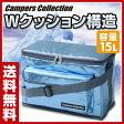 山善(YAMAZEN) キャンパーズコレクション ブルーアルミクールバッグ(15L) BC-15L クーラーバッグ ランチバック アウトドア キャンプ バーベキュー 【送料無料】