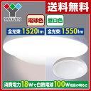 【あす楽】 山善(YAMAZEN) LEDミニシーリングライト(昼白色相当) 白熱電球100W相当 1550ルーメン MLC-18N 天井照明 LEDライト 照明器具 【送料無料】
