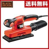 【あす楽】 ブラックアンドデッカー(BLACK&DECKER) コンパクトオービタルサンダー KA320E-JP 電動サンダー 電動工具 研磨機 【送料無料】