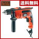 【あす楽】 ブラックアンドデッカー(BLACK&DECKER) 710W コード式振動ドリル KR704REK-JP 【送料無料】