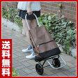 山善(YAMAZEN) ショッピングカート YSC-20(BR) キャリーカート 買い物カート トートバッグ 【送料無料】