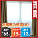 【あす楽】 山善(YAMAZEN) 断熱断冷カーテン(幅110高さ225cm 2枚組) WPC-L(WH) ホワイト 遮光カーテン 遮熱カーテン 断熱カーテン 【送料無料】