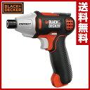 ブラックアンドデッカー(BLACK&DECKER) 7.2Vインパクトドライバー ISD72 電動ドライバー ネジ締め ボルト締め 【送料無料】