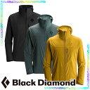 【ブラックダイヤモンド Black Diamond】 アルパイン スタート フーディー(メンズ/ソフトシェル ジャケット)