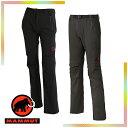 マムート(MAMMUT) SOFtech TREKKERS Pants Women (レディース/パンツ ソフトシェル) 1020-09770