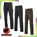 【マムート MAMMUT】 SOFtech TREKKERS Advanced Pants Men(メンズ/パンツ ソフトシェル)【2017年 秋冬の新商品】☆お店で採寸しました☆