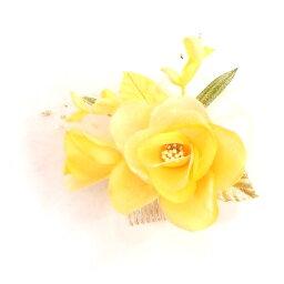 元気いっぱい★イエローのばらの花