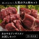 あおやまジンギスカンお試しセット(ラム肉/ラム/マトン/羊肉/味付け/ジンギスカン/鍋/焼肉/肉/焼き肉/バーベキュー/BBQ)