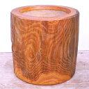【臼・うす・ウス・欅臼・餅つき臼・杵臼・4升(尺6寸5分)】は木工職人黒澤のハンドメイド目の詰んだ最高の木目は希少