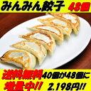 餃子専門店みんみんの餃子 48個 リピーター続出【RCP】【餃子 ぎょうざ ギョーザ】富山より冷凍便で全国にお届けいたします