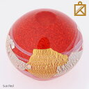 【送料無料】【あす楽対応】ガラス製ミニ骨壷【掌・たなごころ】Sun Red・Sun Black(SUNオリジナル)