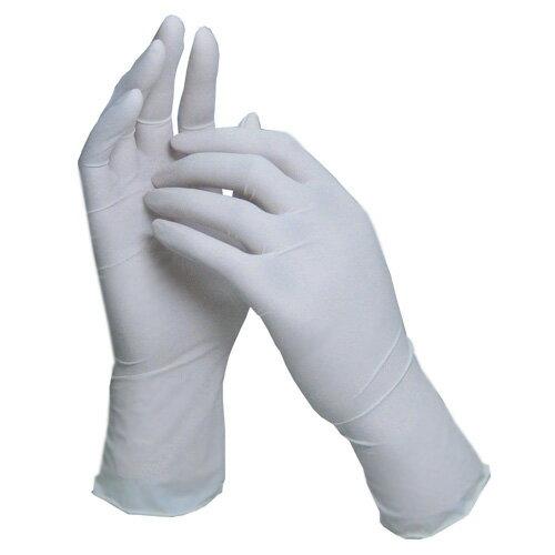 【送料無料】SLラテックス手袋(粉なし) ホワイト 2000枚 [ゴム手袋]_業務用